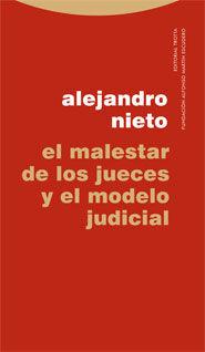 MALESTAR DE LOS JUECES Y EL MODELO JUDICIAL,EL.TROTTA-DURA