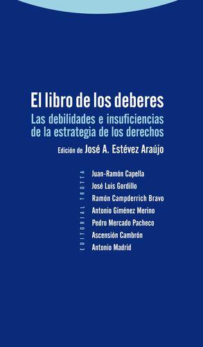 LIBRO DE LOS DEBERES, EL.