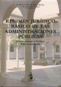RÉGIMEN JURÍDICO BÁSICO DE LAS ADMINISTRACIONES PÚ