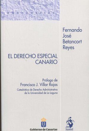 DERECHO ESPECIAL CANARIO, EL