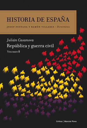 HISTORIA DE ESPAÑA VOLUMEN 8.CRITICA