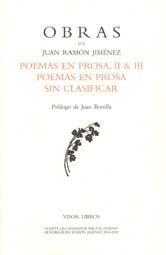 POEMAS EN PROSA II & III