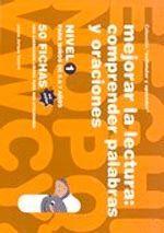 MEJORAR LA LECTURA (COLOR) 1. COMPRENDER PALABRAS