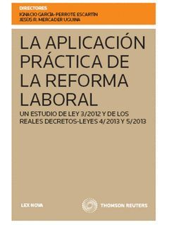 APLICACIÓN PRÁCTICA DE LA REFORMA LABORAL, LA