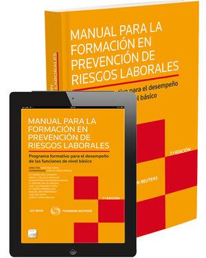 MANUAL PARA LA FORMACIÓN EN PREVENCIÓN DE RIESGOS LABORALES-PROGRAMA FORMATIVO P