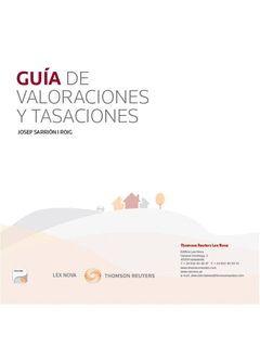 GUÍA DE VALORACIONES Y TASACIONES. LEX NOVA-RUST