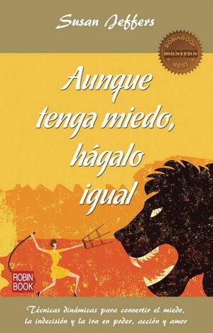 AUNQUE TENGA MIEDO HAGALO IGUAL.ROBIN BOOK
