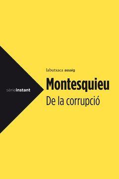 DE LA CORRUPCIÓ