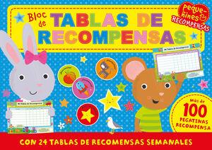 PEQUEÑINES- BLOC DE TABLAS DE RECOMPENSA