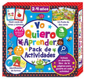 YO QUIERO APRENDER- PACK DE ACTIVIDADES