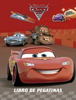 CARS 2. LIBRO PEGATINAS