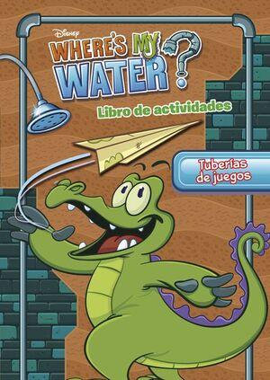 WHERE'S MY WATER. TUBERIAS DE JUEGOS