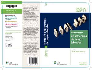 PRONTUARIO DE PREVENCION DE RIESGOS LABORALES 2011