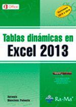 TABLAS DINÁMICAS EN EXCEL 2013