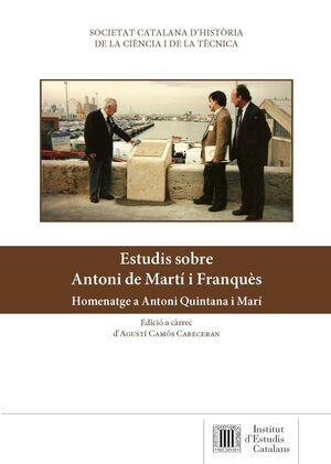 ESTUDIS SOBRE ANTONI DE MARTÍ I FRANQUÈS