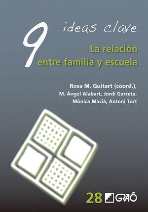 9 IDEAS CLAVE. LA RELACIÓN ENTRE FAMILIA Y ESCUELA