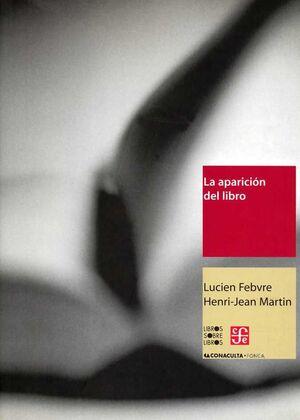 APARICION DEL LIBRO.FCE