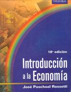 INTRODUCCION A LA ECONOMIA/ROSSETTI-