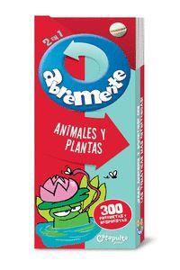 ABREMENTE 2 EN 1 - ANIMALES Y PLANTAS