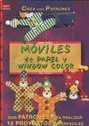 MOVILES DE PAPEL Y WINDOW COLOR.CREA PAT