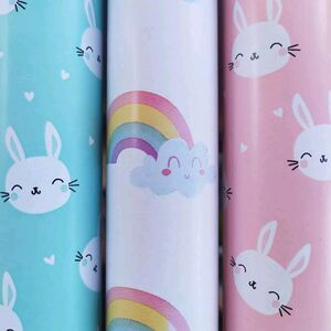 PAPEL DE REGALO RAINBOW (PACK 3 ROLLOS)